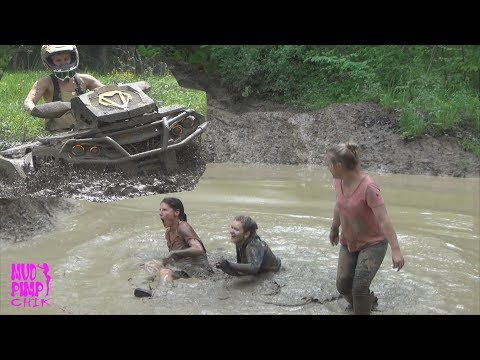 GIRLS....MUD...ATV'S THATS WHAT ITS ALL ABOUT! OFFROAD GIRLS