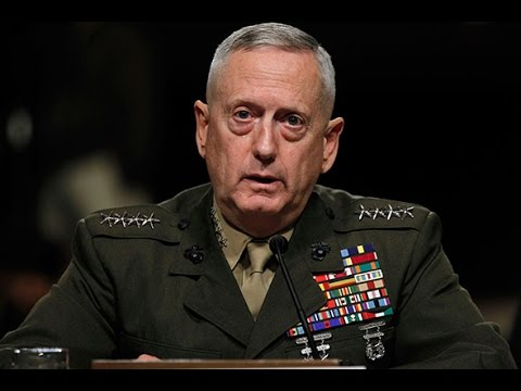 LIVE COVERAGE: Defense Secretary Press Briefing - 4/11/17