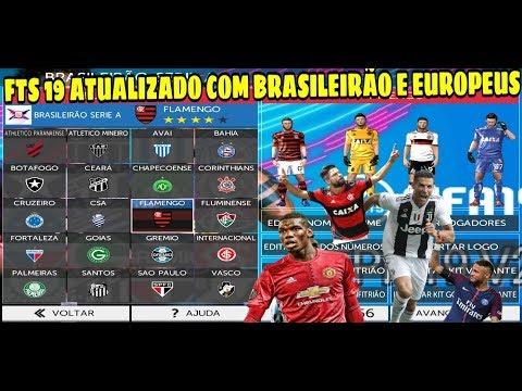 BAIXAR😱 FTS 19ATUALIZADO COM BRASILEIRÃO 2019 E EUROPEUS ATUALIZADO (GRÁFICOS HD) KITS E CHUTEIRAS