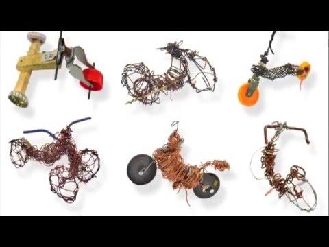 sculpture fil de fer youtube