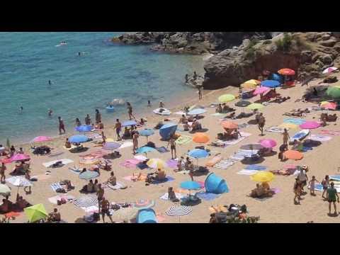 Santa Cristina beach, Lloret de Mar, Costa Brava