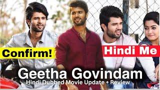 Geeta govindam South Movie Hindi Dubbed |  Update | new South Movie 2020 | GTM