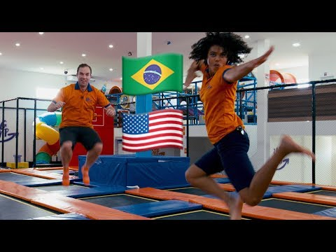 American Family Brings Trampoline park to Brazil