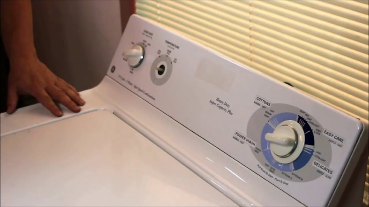 Washing Machine Troubleshooting ~ Ge washing machine repair fix overflows with water issue