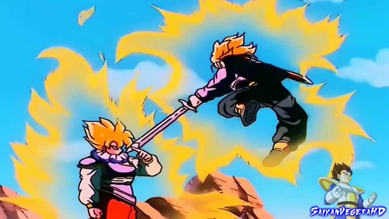Goku Ssj4 Vs Goku Ssj3: Goku SSJ Vs Trunks SSJ Audio Latino