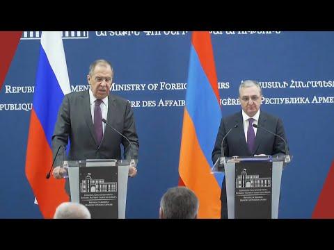 Лавров: Без согласия народа Нагорного Карабаха никакие договоренности оформить невозможно