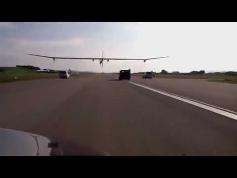 Solar Impulse 1 Take-Off To Brussels Airport Filmed With Ipad