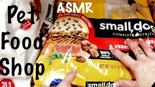 ASMR Pet Food Shopping /Tractor Supply/Pure crinkle heaven/Pet Food Bags (No talking)