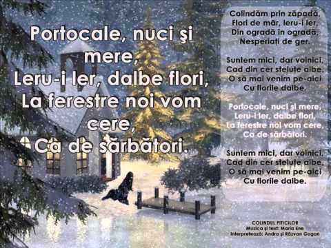 cantece de iarna si Craciun – Andra si Razvan Gogan – Colindul piticilor