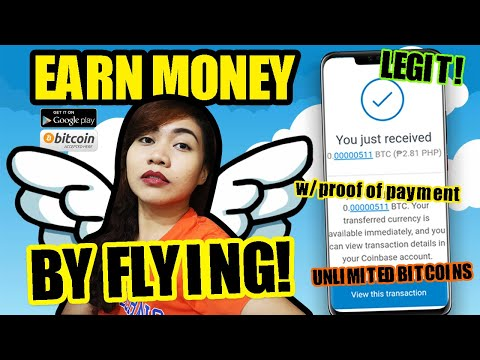 EARN UNLIMITED BITCOINS FROM THIS MOBILE APP | Flying Coin Honest Review