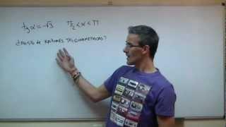 Razones trigonometricas vs TANGENTE SECUNDARIA (4ºESO) trigonometria