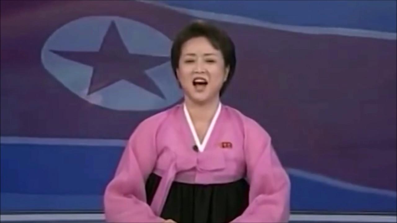 Nachrichtensprecherin Nordkorea