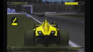 F1 2001 - Trulli Crash (PS2 Game)