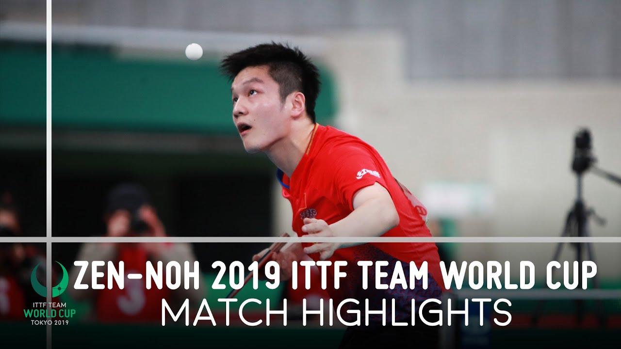 Download Fan Zhendong vs Tomokazu Harimoto | ZEN-NOH 2019 Team World Cup Highlights (1/2)