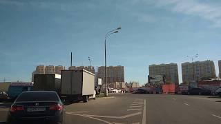 . Москва-Некрасовка-Люберцы. Поездка на автомобиле по городу