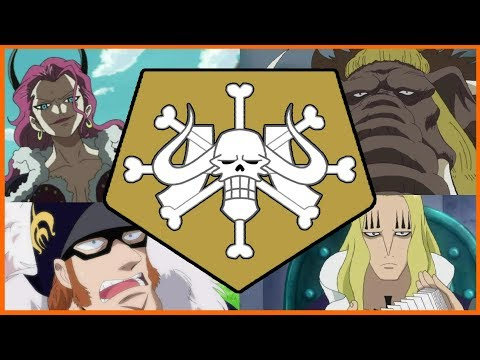 The Beast Pirate Crew Hierarchy - One Piece Discussion