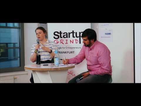 Julia Römer (Cooler) at Startup Grind Frankfurt