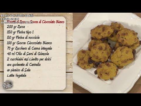 Biscotti Di Natale Quel Che Passa Il Convento.Biscotti Di Zucca Con Gocce Di Cioccolato Bianco In Due Minuti Youtube