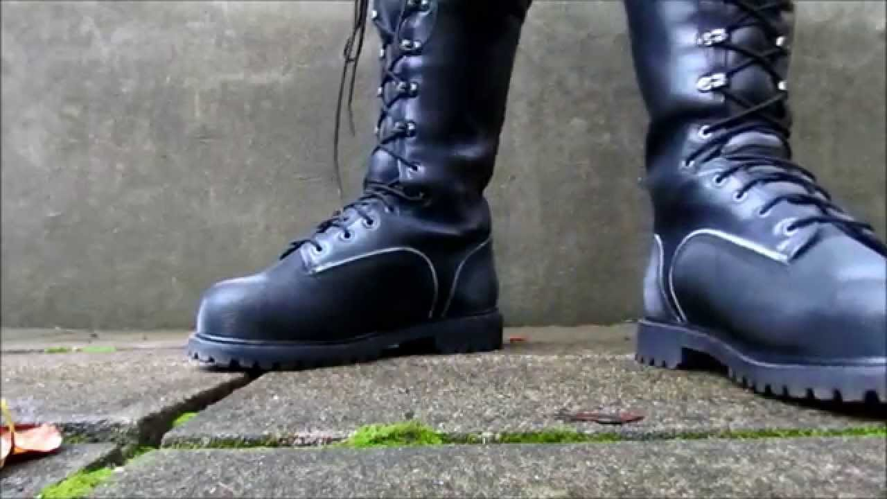 Lacrosse Longwall Mining Boots Stomping - YouTube