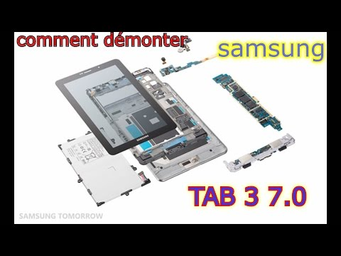How to disassemble SAMSUNG TAB 3