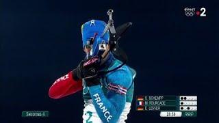 JO 2018 : Biathlon - Mass start : Un duel Fourcade/Schempp