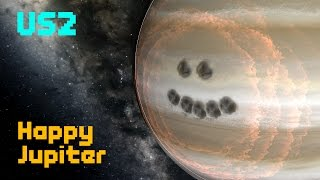 Happy Jupiter! [Gas Deformation] - Universe Sandbox 2