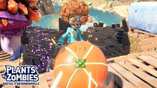 Citron vs Super Disco Boss Wave | Plants vs Zombies: Battle for Neighborville