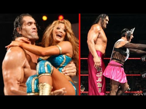 Great Khali Wwe Kisses And Romance With Hot Girls