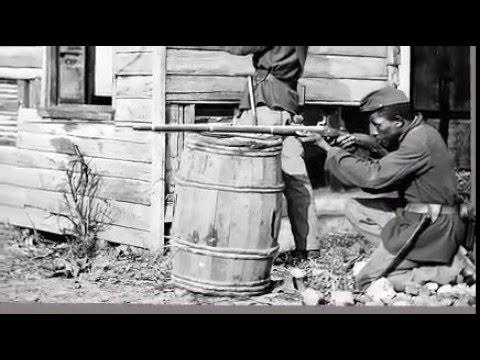 Dutch Gap, Virginia. Picket station of Colored troops near Dutch Gap canal