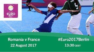 Romania vs france | ibsa blind football european championships
