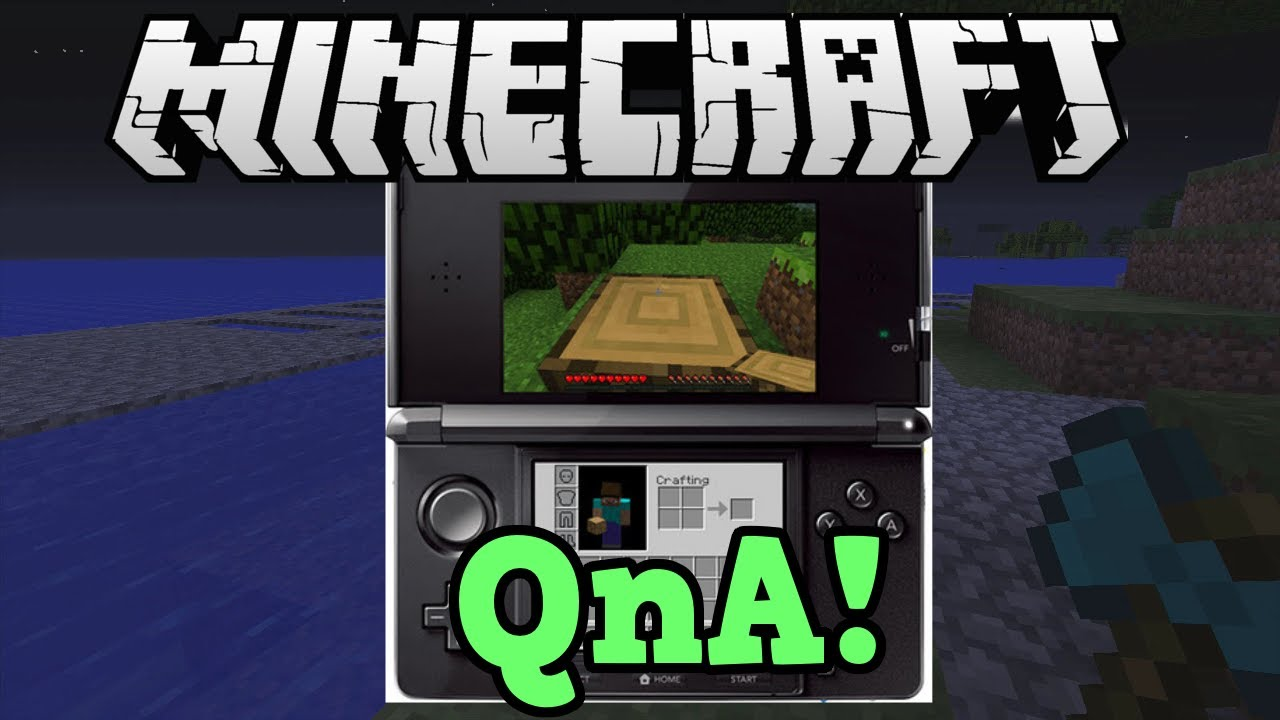 Minecraft 3ds Edition Qna Controls Features Gameplay Youtube