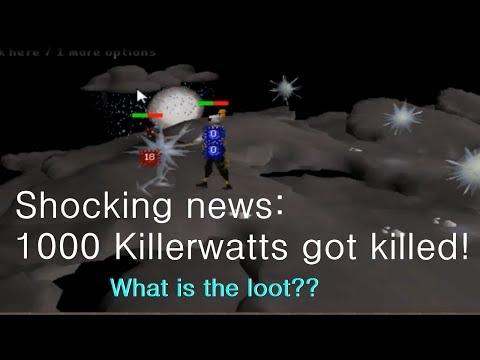 RuneScape 2007 Let's kill 1000 Killerwatts