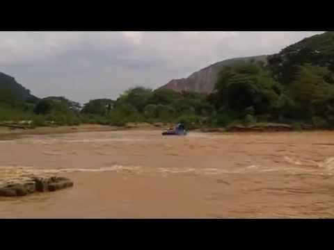 Hov Pod Hovercraft on Rapids 2