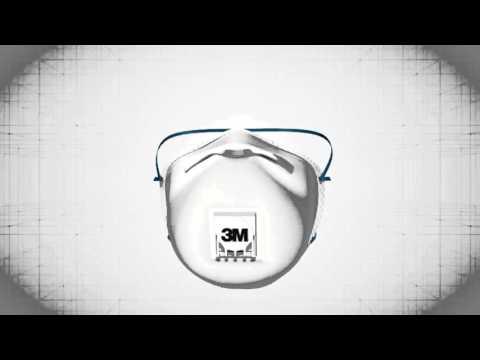 3M 8833 Valved Respirator | FFP3 Masks | Protec Directt