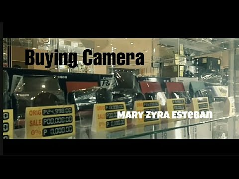 BUYING CAMERA | Mary Zyra Esteban