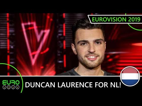 DUNCAN LAURENCE TO TEL AVIV! (LIVE REACTION) The Netherlands Eurovision 2019