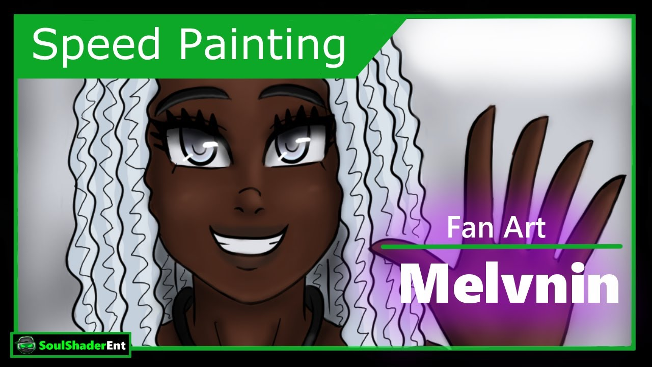 ❇️Melvnin Fanart Speed Drawing