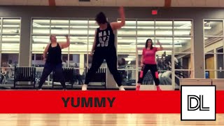Yummy - Justin Bieber || Dance Fitness Choreo + Tutorial!!