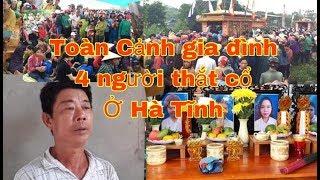 Toàn bộ d/iễ/n b/iế/n bốn người trong một gia đình t.v ở Hà Tĩnh