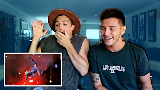 One of The TrentAndLuke Scoop's most viewed videos: GAYS REACT TO LADY GAGA SUPER BOWL HALFTIME SHOW! (2017)