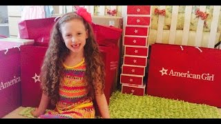 AG American Girl Doll Store Haul Video! Unboxing Lea Clark Doll! Review by New Toy Collector Family