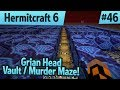 Murder Maze Vault for the Grian Head Hunt! — Hermitcraft 6 ep 46