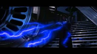 Luke Confronts The Emperor