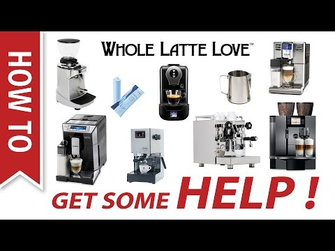 How To: Support/Help For Espresso Machines And Coffee Equipment