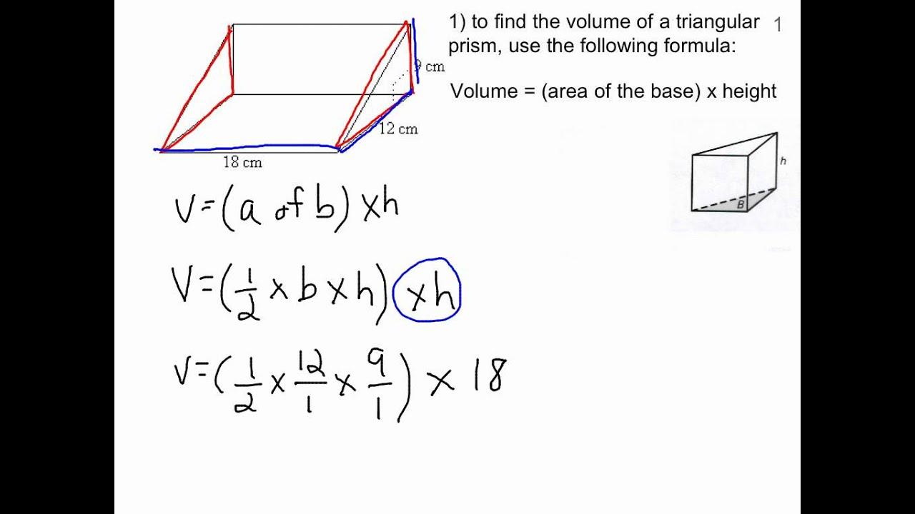 Volume Formulas (video lessons [ 720 x 1280 Pixel ]