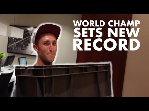 Disc Golf World Champ Sets New Record in Bowling Green