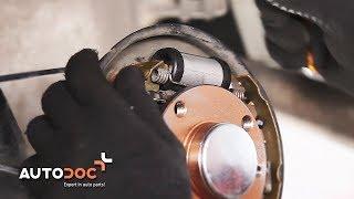 How to replace Wheel speed sensor FIAT PUNTO (188) Tutorial
