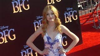 "Katherine Mcnamara ""the Bfg"" Premiere Red Carpet"