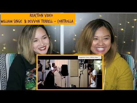 Reaction Video - William Singe x Devvon Terrell Cover Controlla by Drake