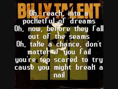 Billy Talent  Pocketful of Dreams with Lyrics